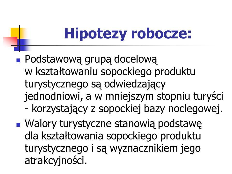 Hipotezy robocze: