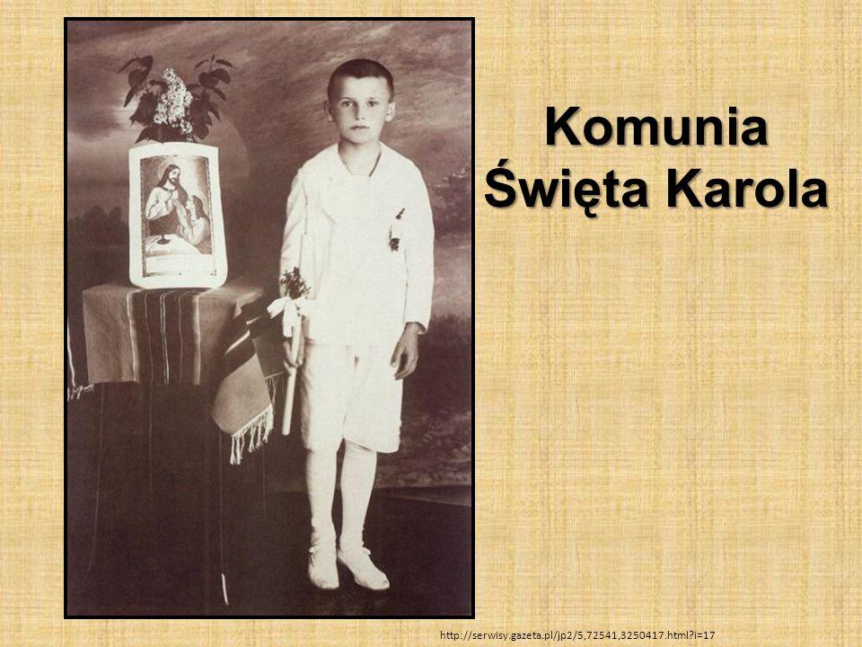 Komunia Święta Karola http://serwisy.gazeta.pl/jp2/5,72541,3250417.html i=17