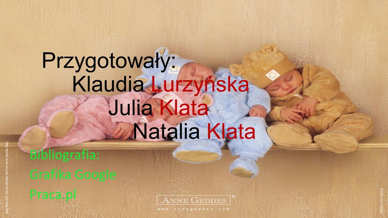 Przygotowały: Klaudia Lurzyńska Julia Klata Natalia Klata
