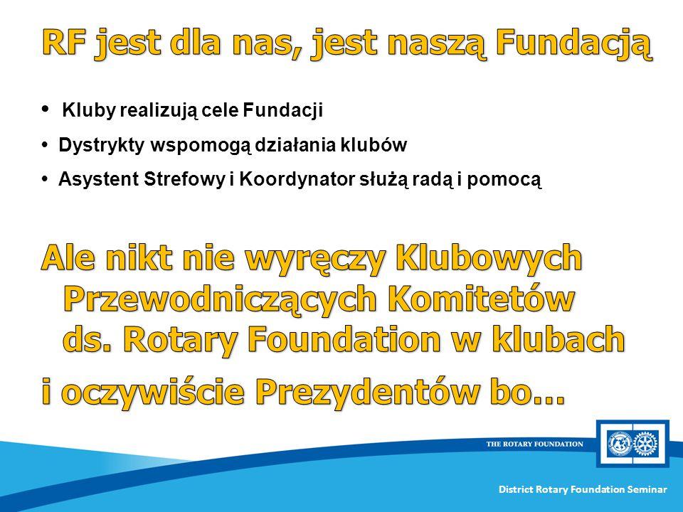 RF jest dla nas, jest naszą Fundacją
