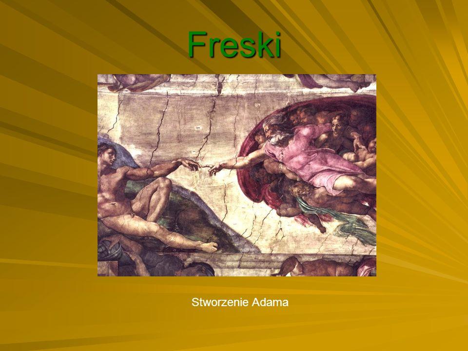 Freski Stworzenie Adama