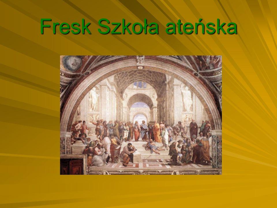 Fresk Szkoła ateńska