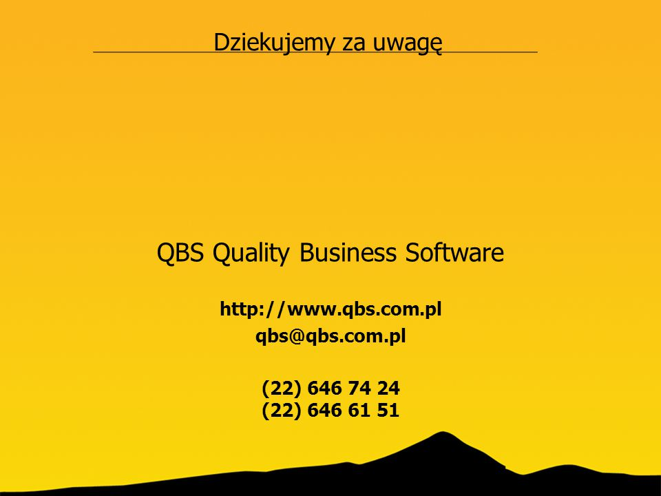 QBS Quality Business Software