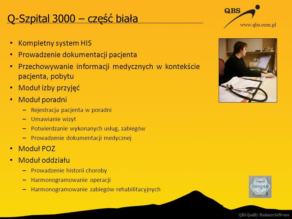 Q-Szpital 3000 – część biała