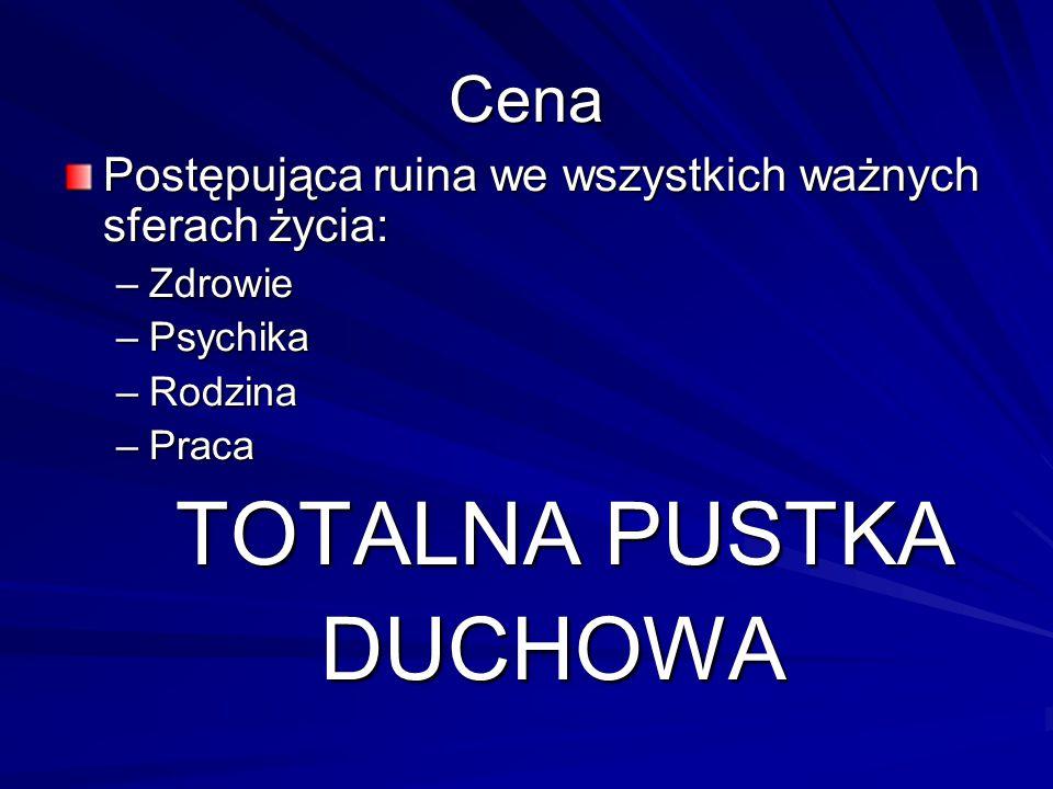 TOTALNA PUSTKA DUCHOWA Cena
