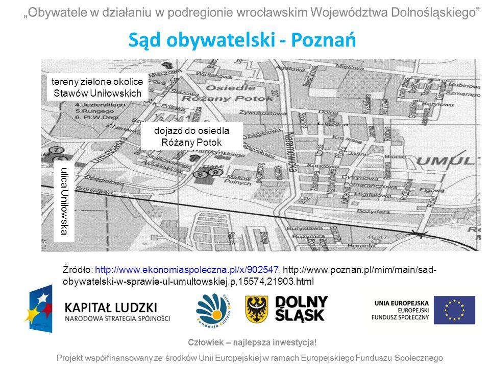 Sąd obywatelski - Poznań