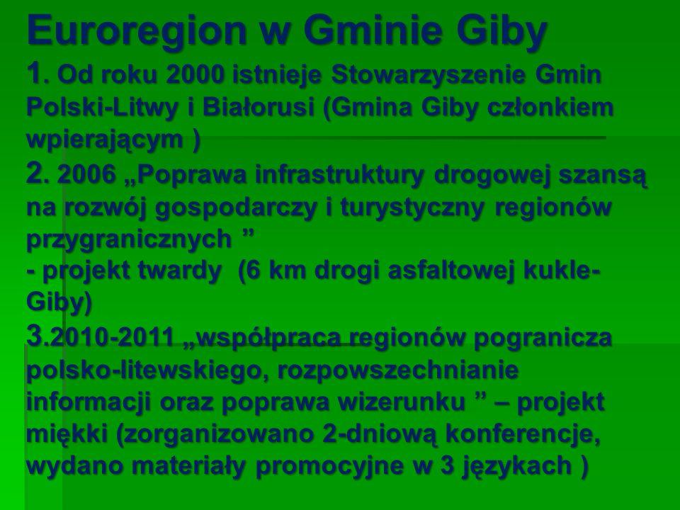 Euroregion w Gminie Giby 1