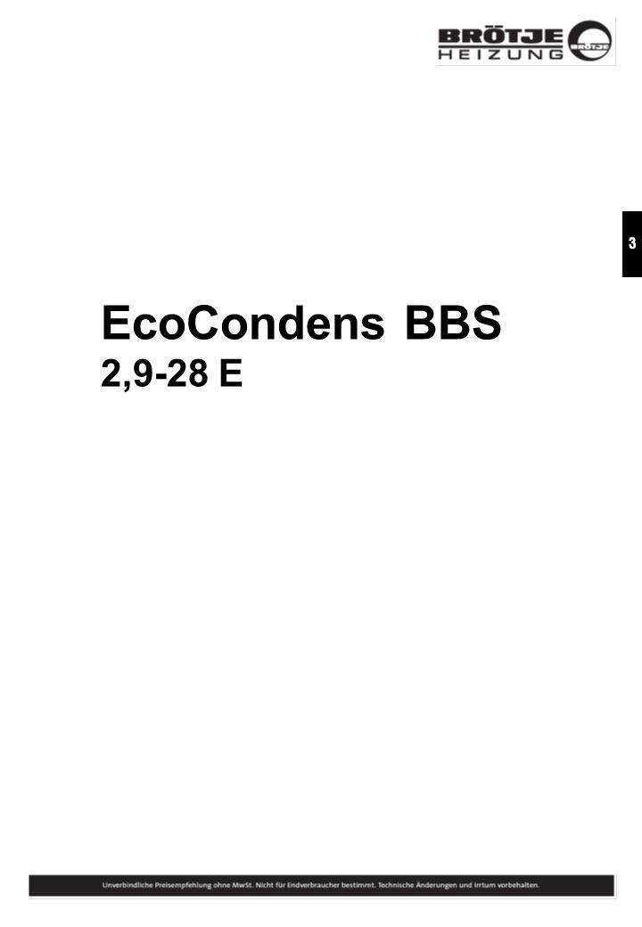 EcoCondens BBS 2,9-28 E