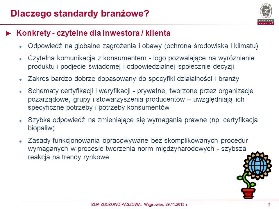 Dlaczego standardy branżowe