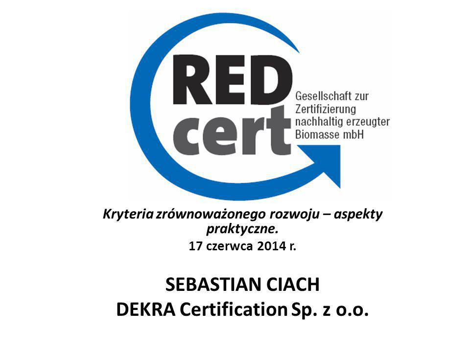 DEKRA Certification Sp. z o.o.