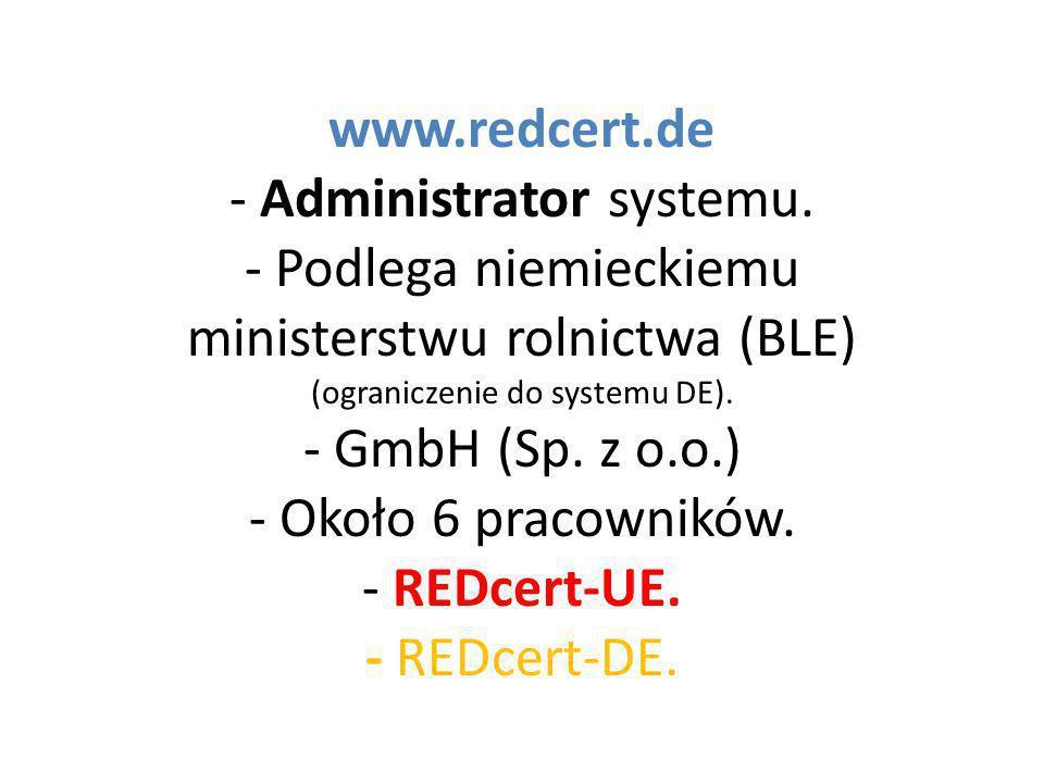 www. redcert. de - Administrator systemu