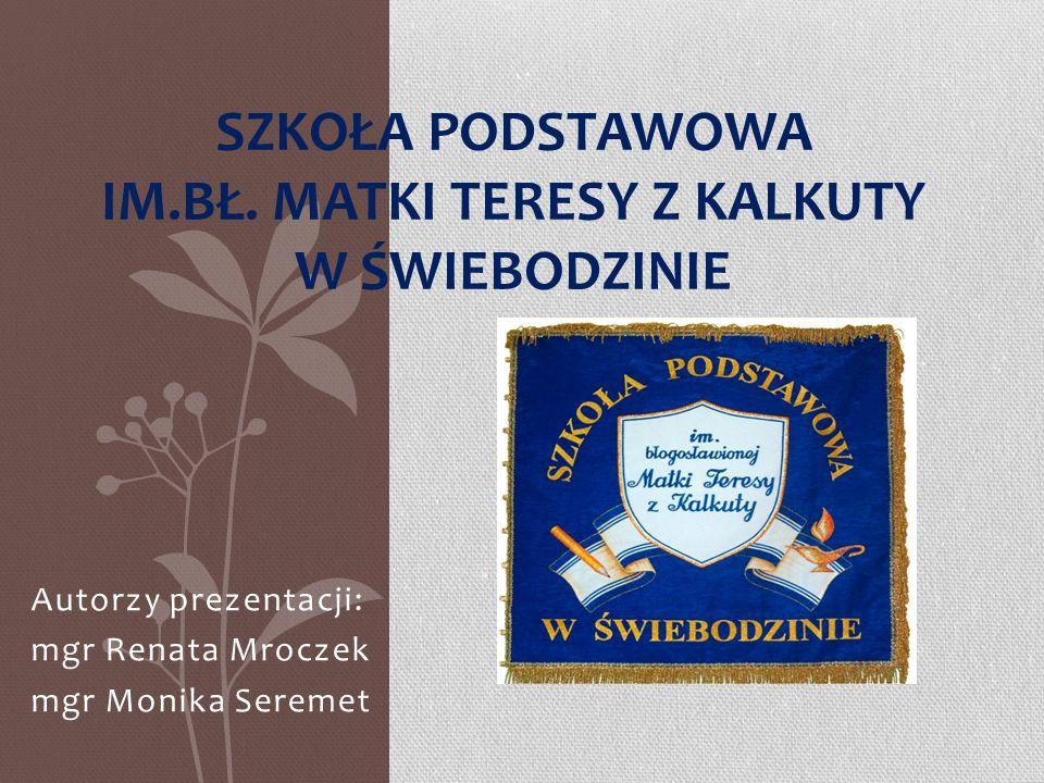 Szkoła Podstawowa im.bł. Matki Teresy z Kalkuty w Świebodzinie
