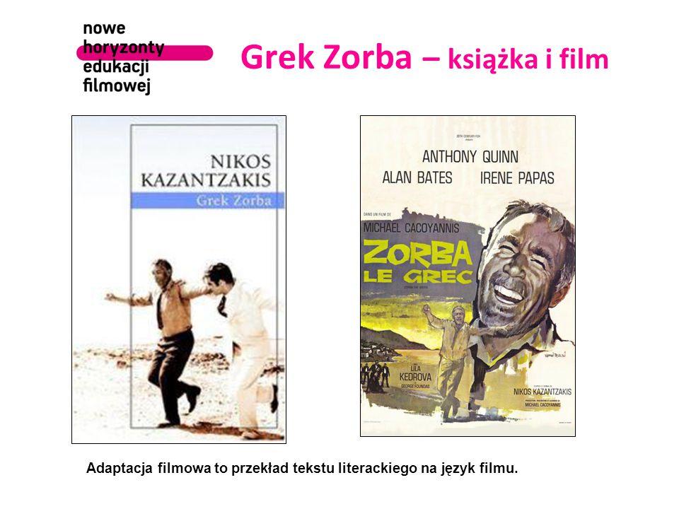 Grek Zorba – książka i film