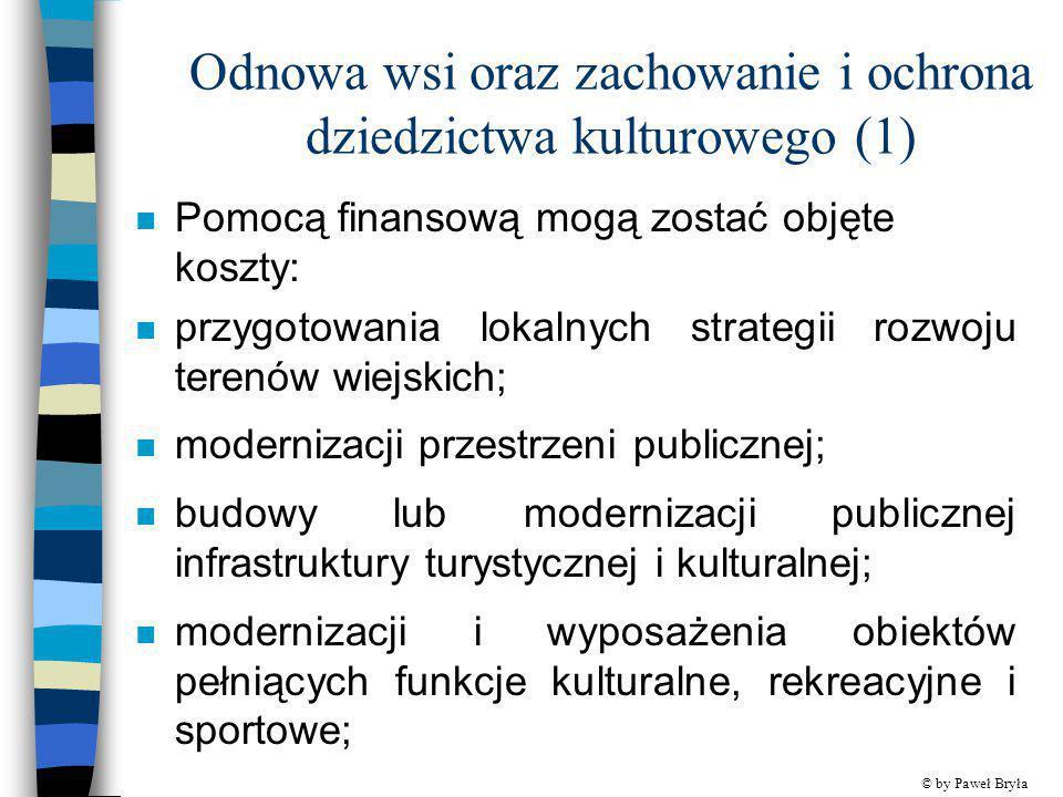 Odnowa wsi oraz zachowanie i ochrona dziedzictwa kulturowego (1)