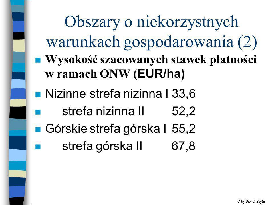 Obszary o niekorzystnych warunkach gospodarowania (2)