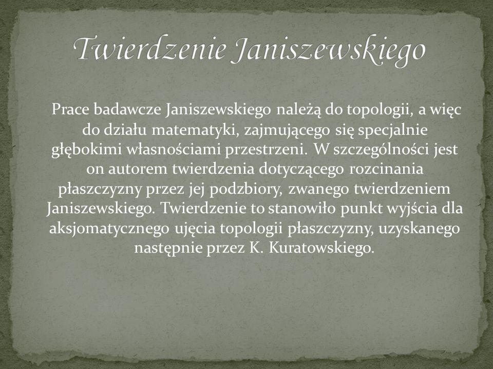Twierdzenie Janiszewskiego