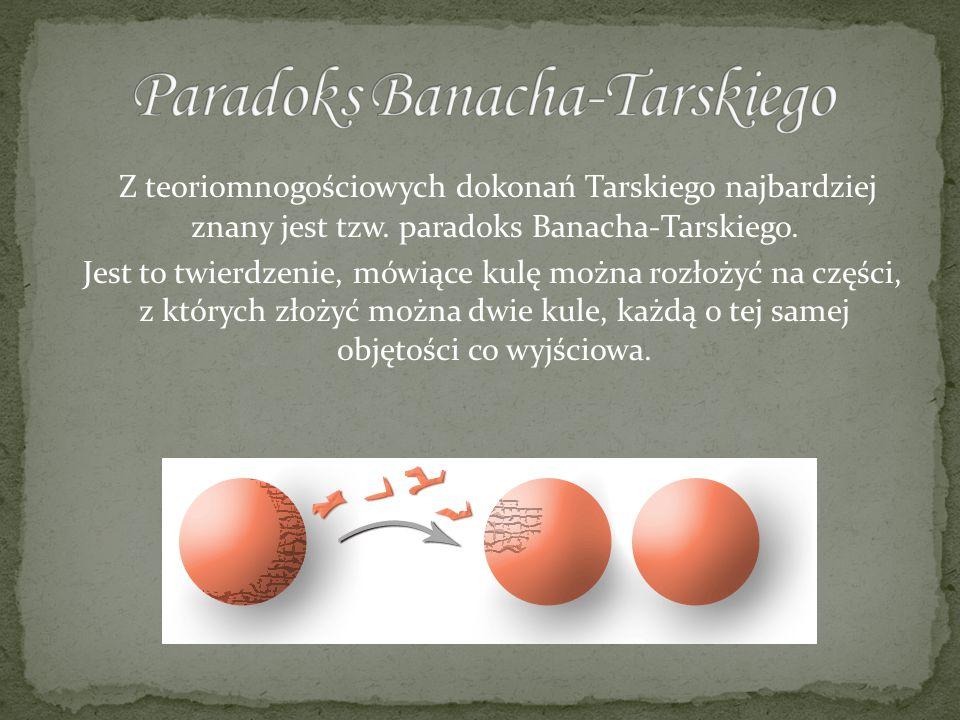 Paradoks Banacha-Tarskiego