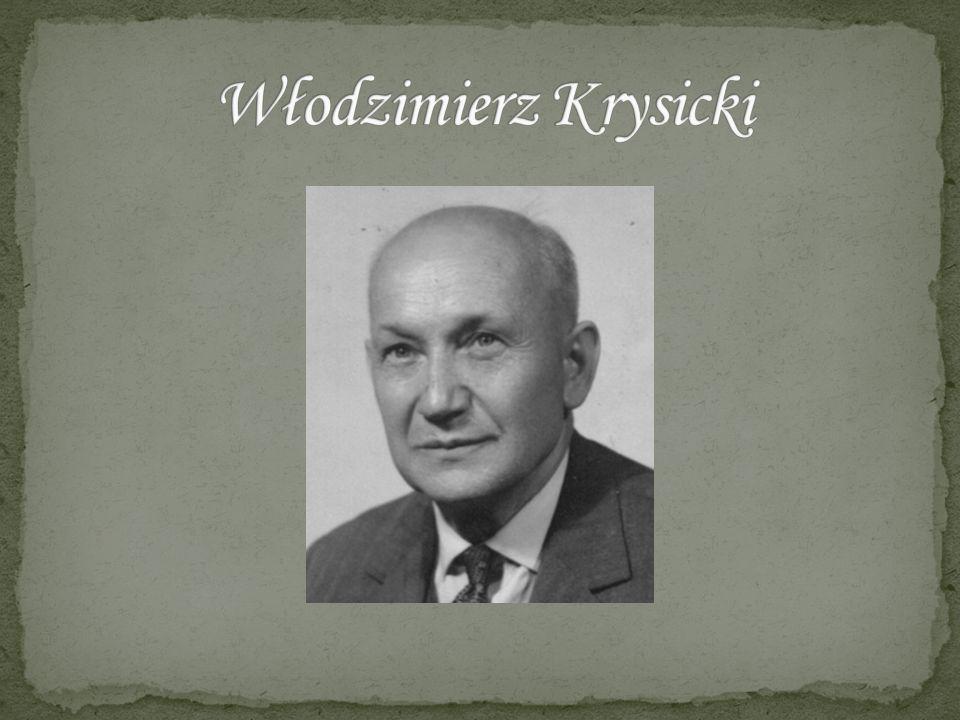 Włodzimierz Krysicki