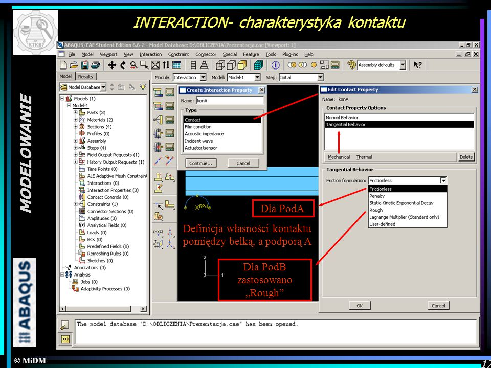 INTERACTION- charakterystyka kontaktu