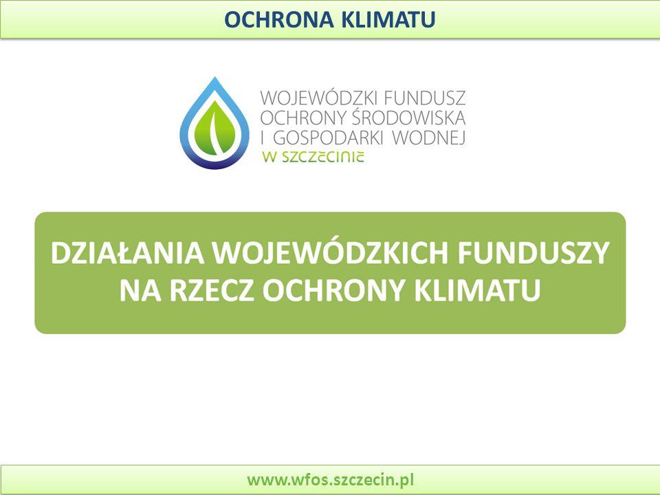 OCHRONA KLIMATU www.wfos.szczecin.pl