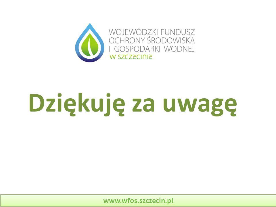 Dziękuję za uwagę www.wfos.szczecin.pl