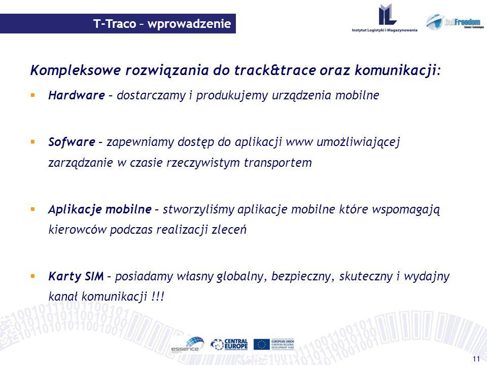 Kompleksowe rozwiązania do track&trace oraz komunikacji:
