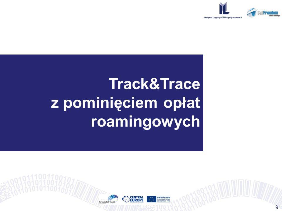 Track&Trace z pominięciem opłat roamingowych
