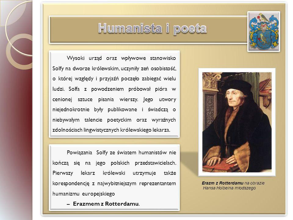 Humanista i poeta