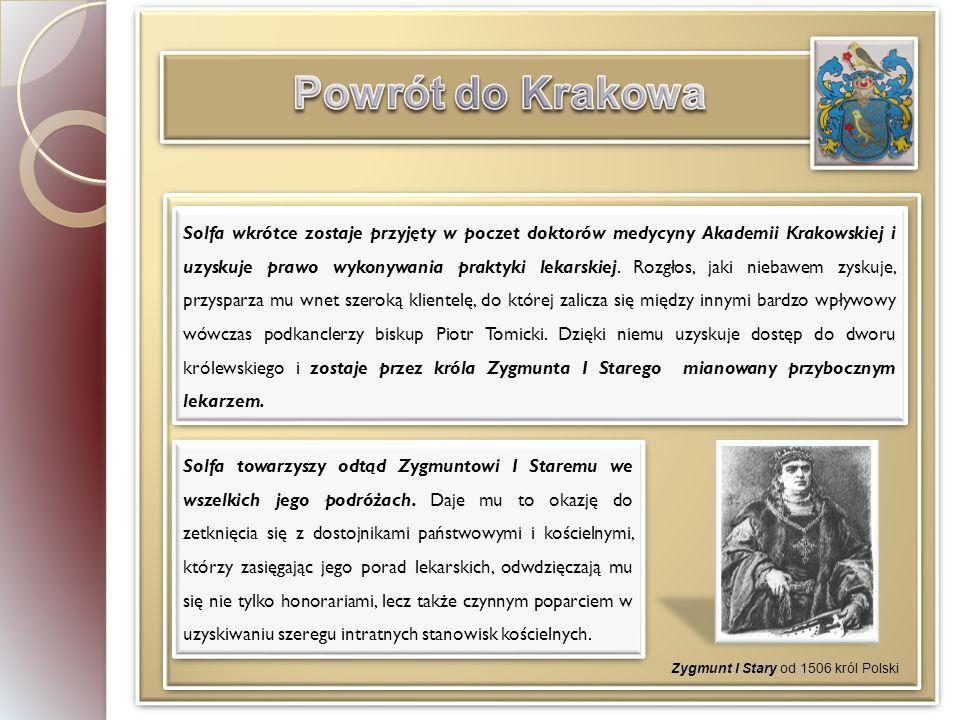 Powrót do Krakowa