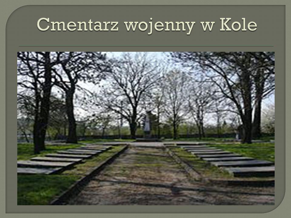 Cmentarz wojenny w Kole