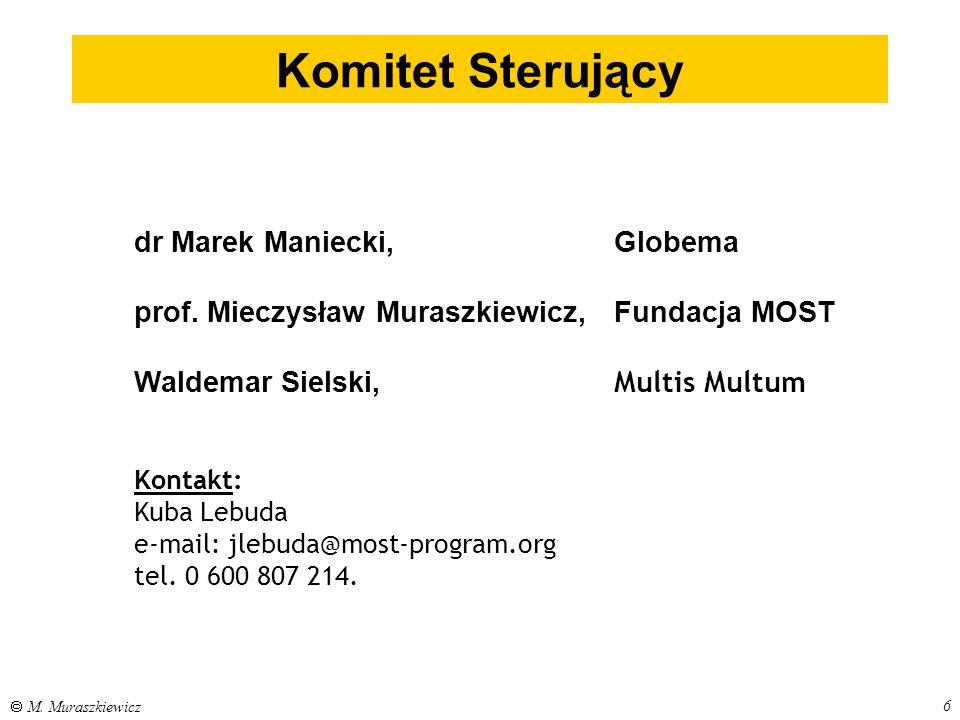 Komitet Sterujący dr Marek Maniecki, Globema