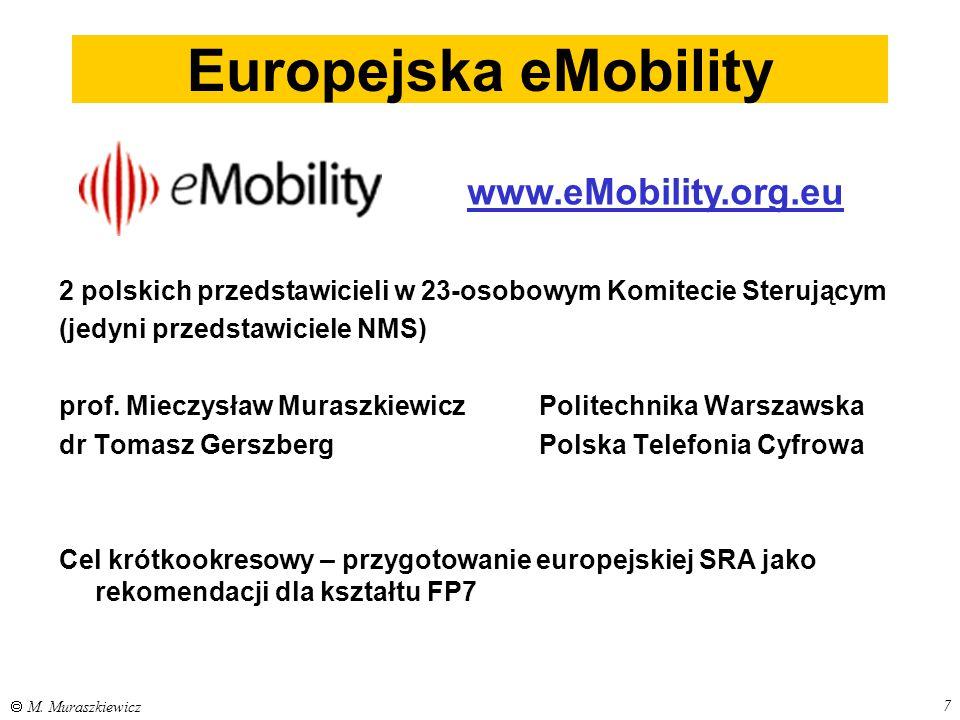 Europejska eMobility www.eMobility.org.eu