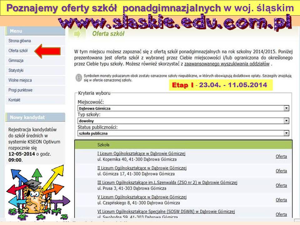 Poznajemy oferty szkół ponadgimnazjalnych w woj. śląskim