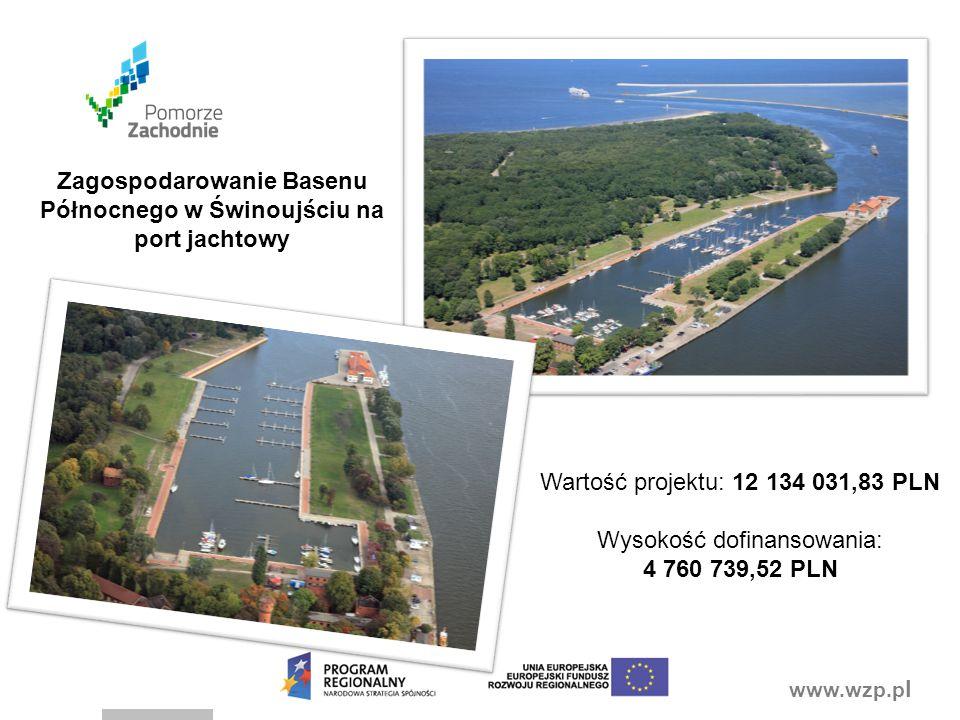 Zagospodarowanie Basenu Północnego w Świnoujściu na port jachtowy