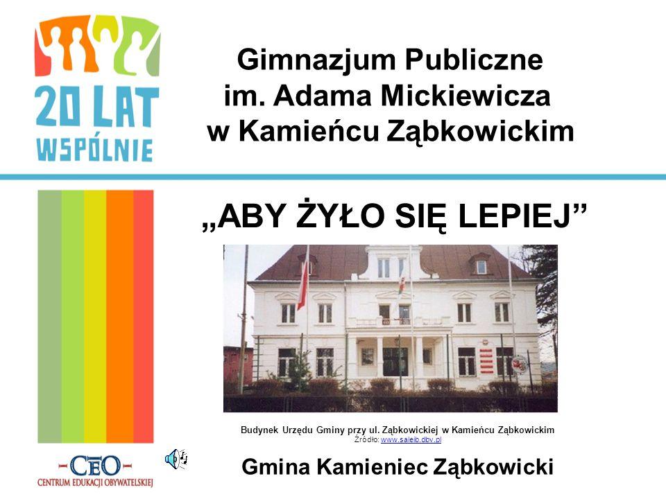 Gimnazjum Publiczne im. Adama Mickiewicza w Kamieńcu Ząbkowickim