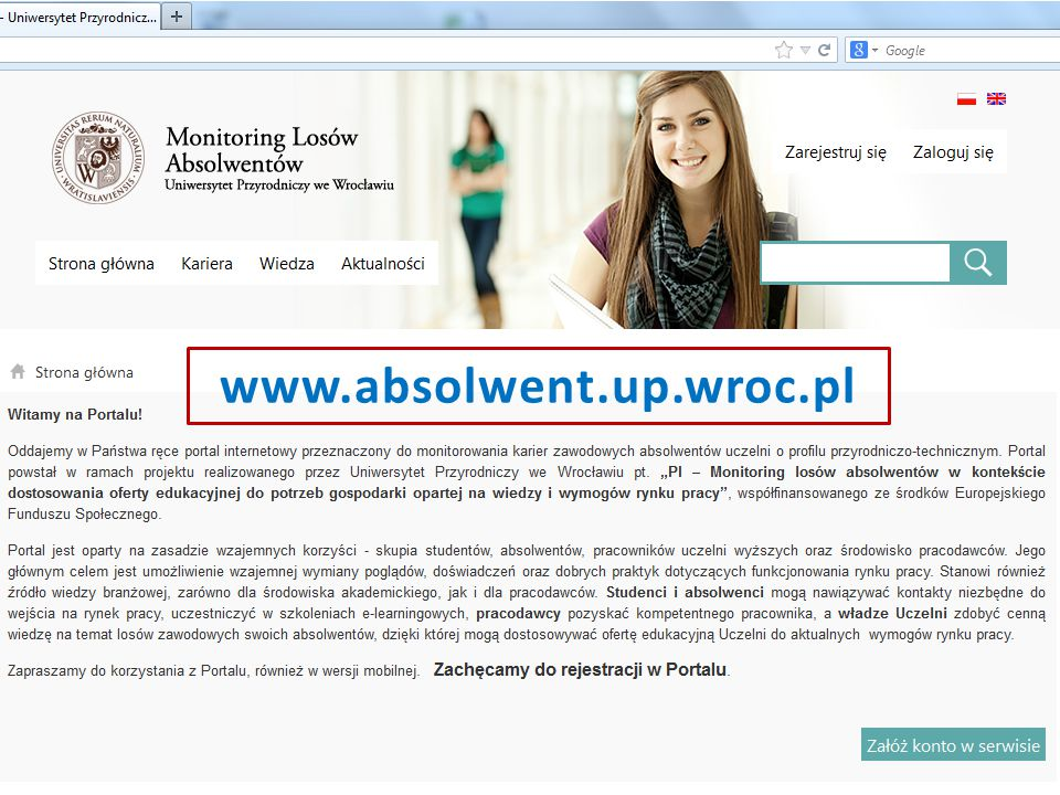 www.absolwent.up.wroc.pl