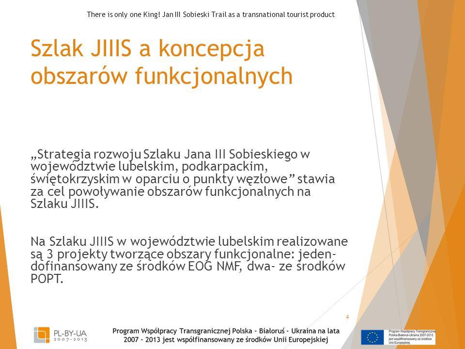 Szlak JIIIS a koncepcja obszarów funkcjonalnych