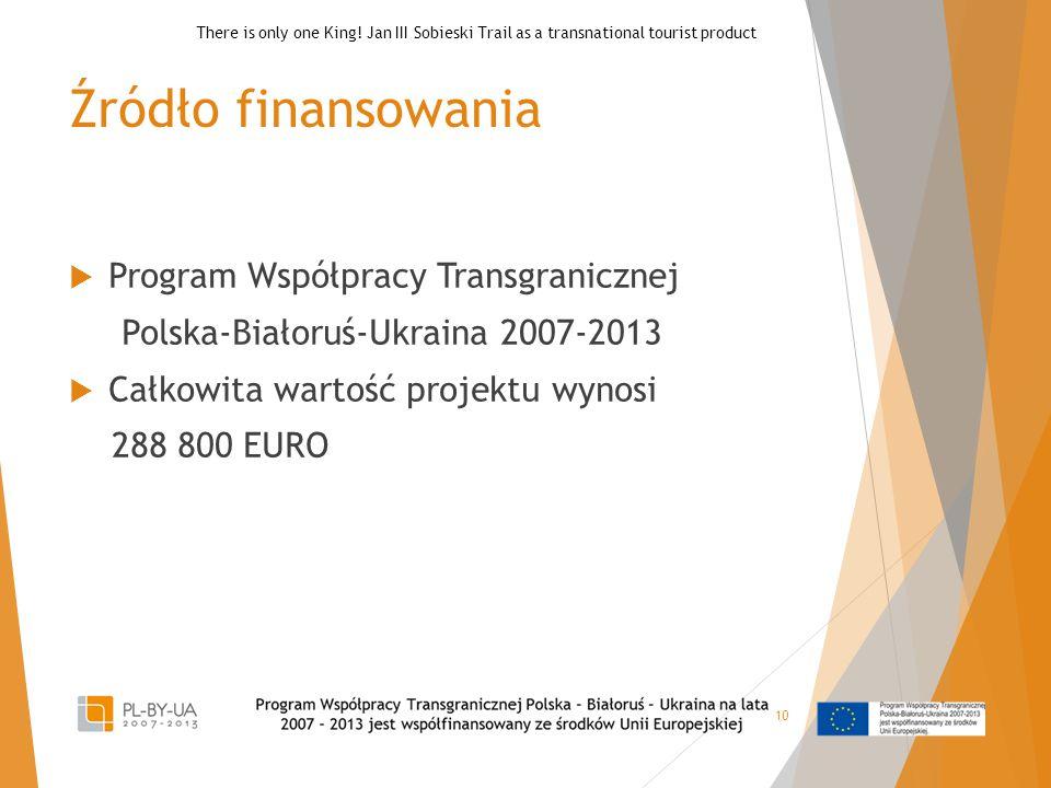 Źródło finansowania Program Współpracy Transgranicznej