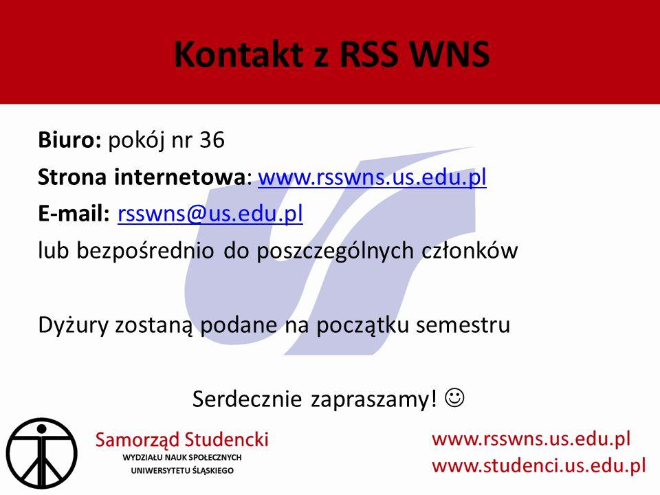 Kontakt z RSS WNS