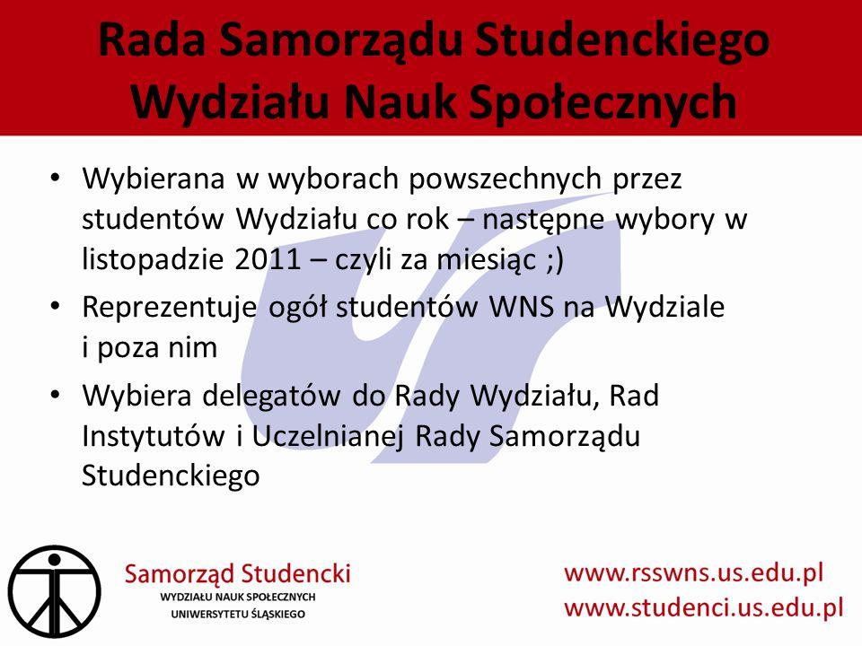 Rada Samorządu Studenckiego Wydziału Nauk Społecznych