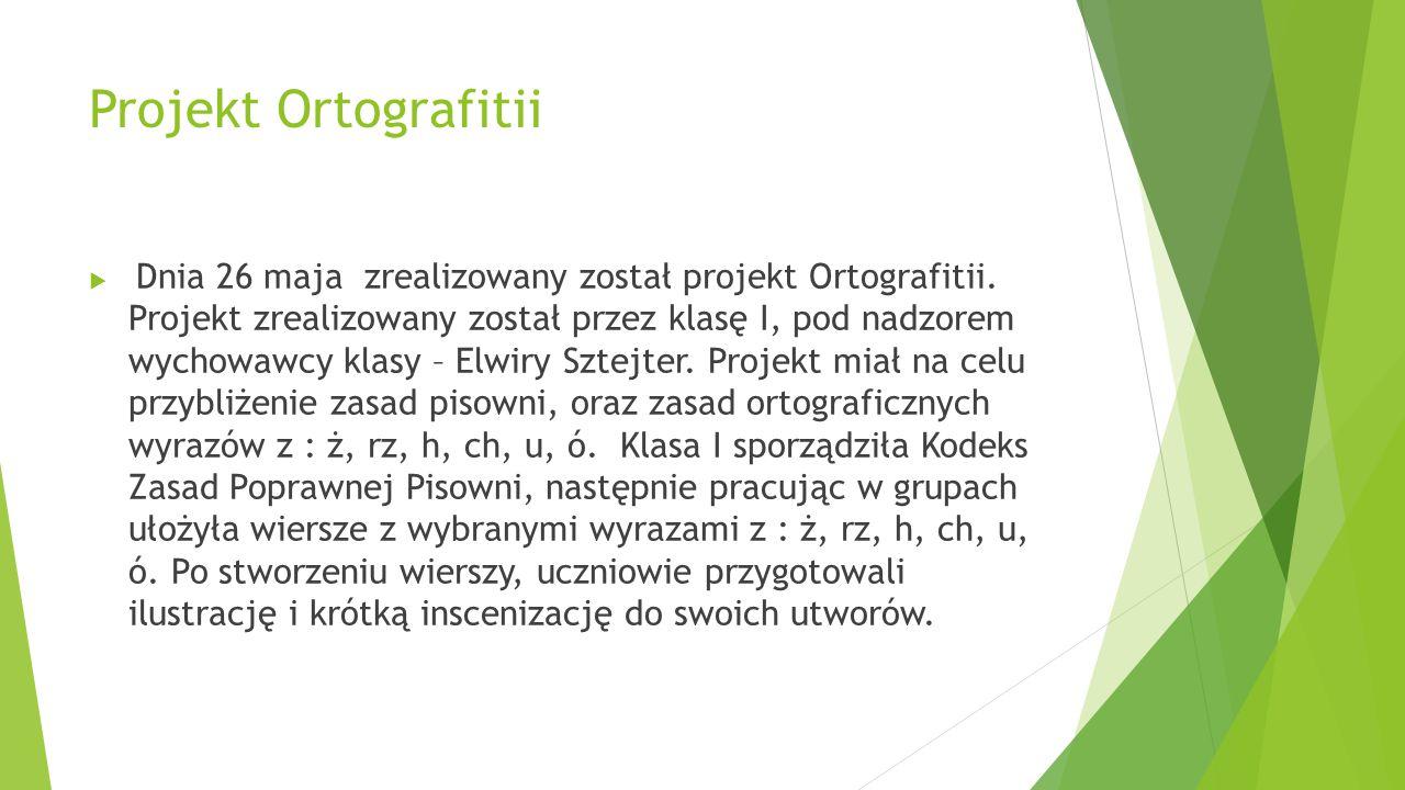 Projekt Ortografitii