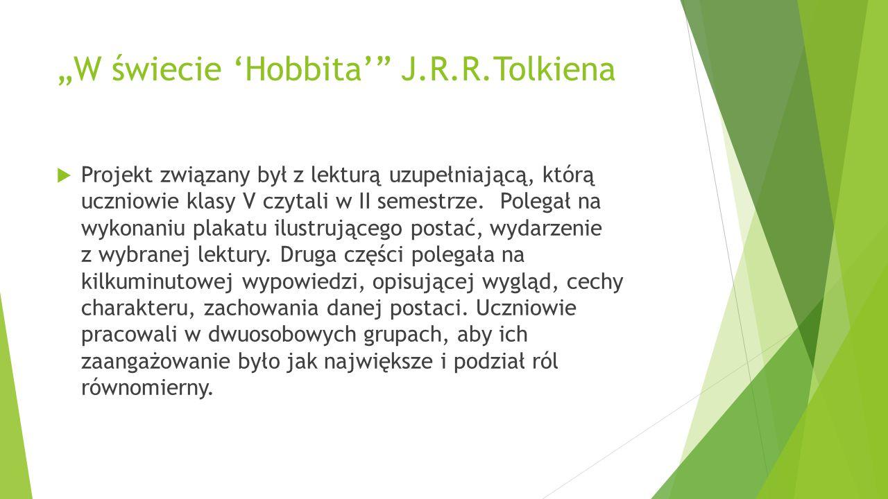 """""""W świecie 'Hobbita' J.R.R.Tolkiena"""