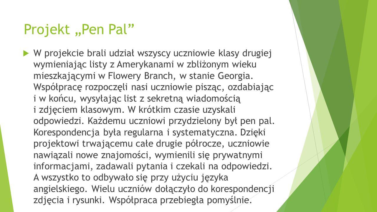 "Projekt ""Pen Pal"