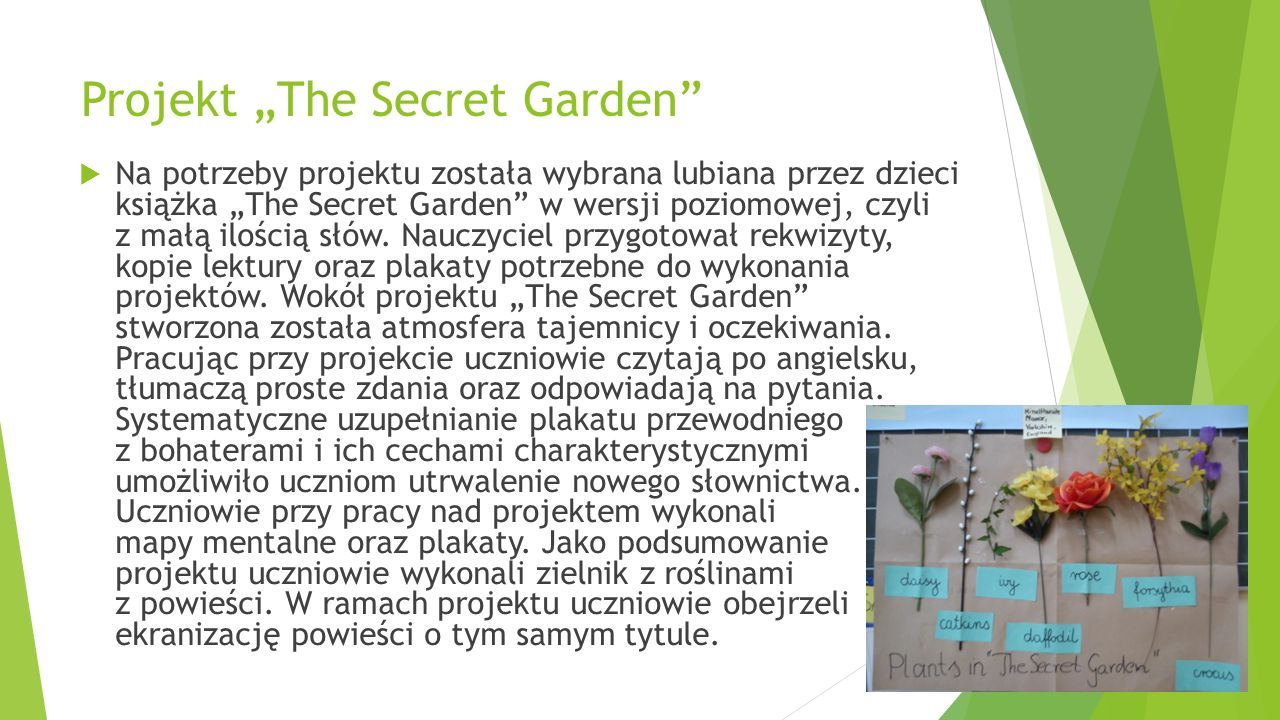 "Projekt ""The Secret Garden"