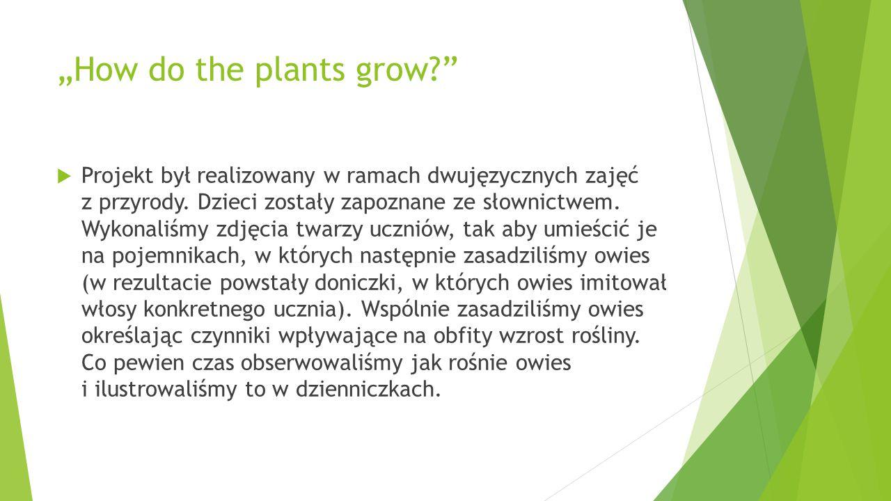 """""""How do the plants grow"""