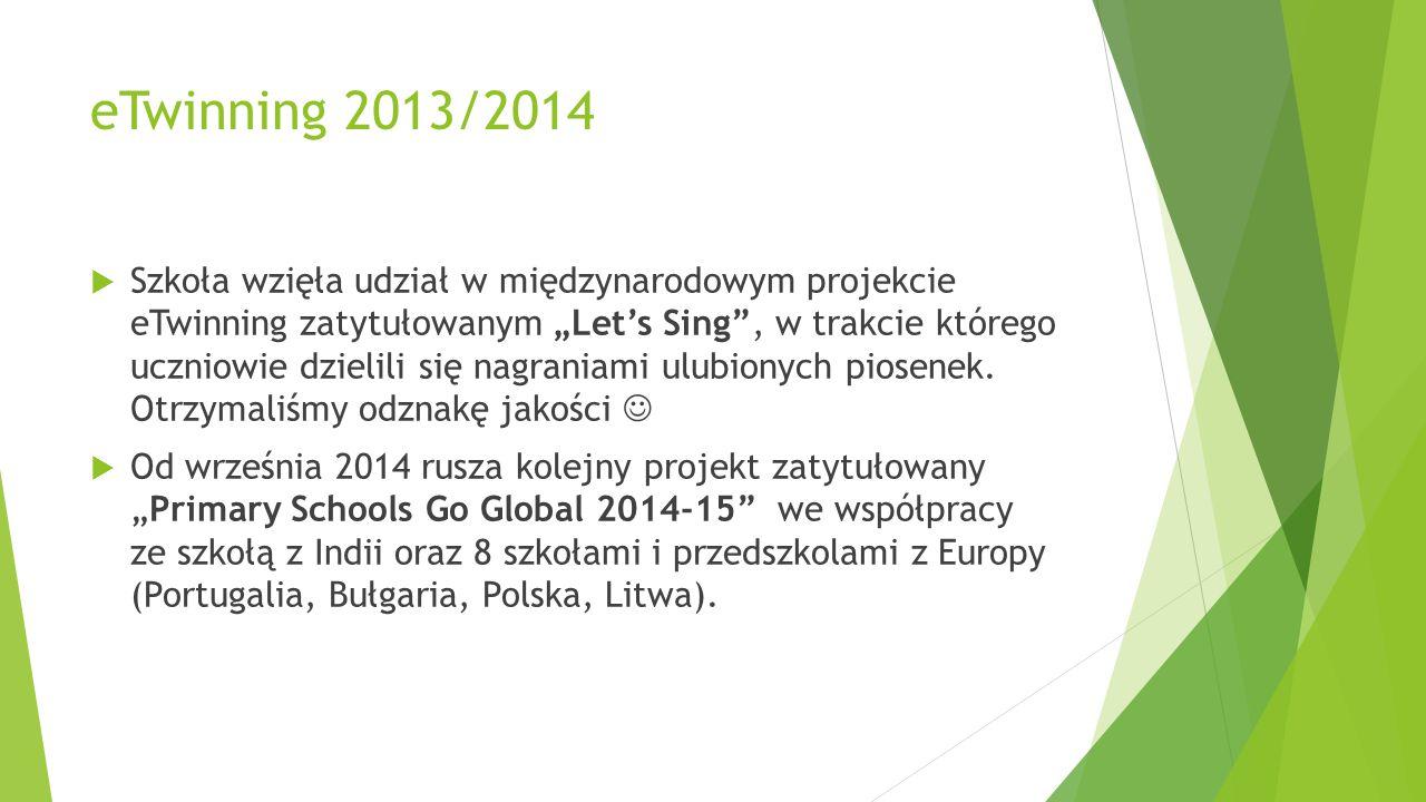 eTwinning 2013/2014