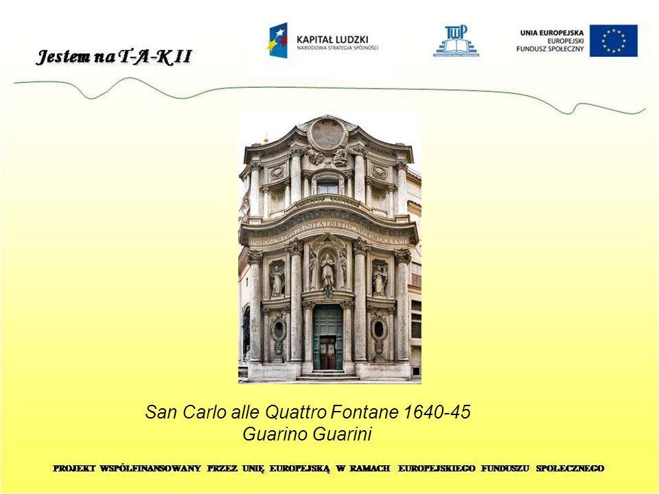 San Carlo alle Quattro Fontane 1640-45