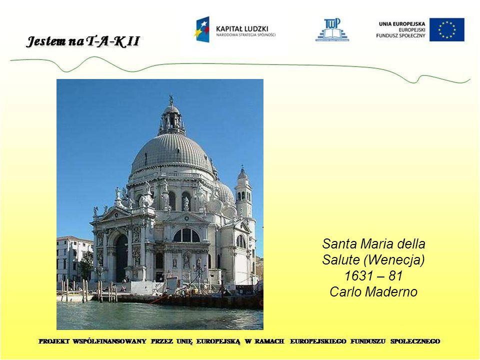 Santa Maria della Salute (Wenecja) 1631 – 81