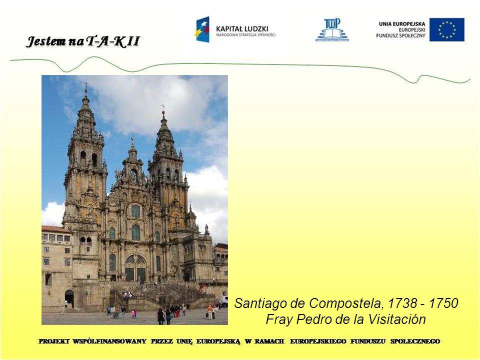 Santiago de Compostela, 1738 - 1750 Fray Pedro de la Visitación