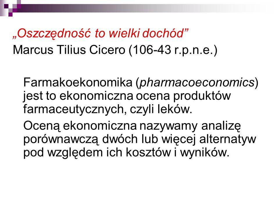 """""""Oszczędność to wielki dochód Marcus Tilius Cicero (106-43 r.p.n.e.)"""